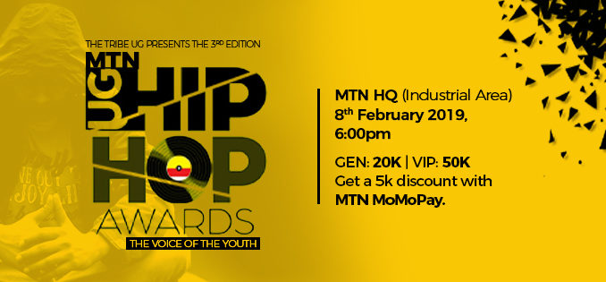EXCLUSIVE: MTN UG Hip-Hop Awards Nominees 2019.